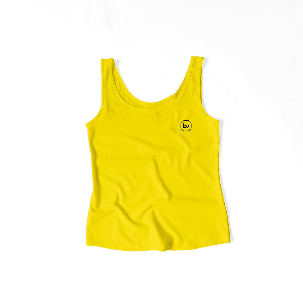 Bazarville Void TTF XS / Sun Yellow Girls Tank Top - Sun Yellow