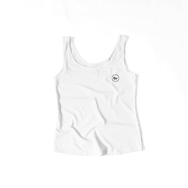 Bazarville Void TTF XS / White Girls Tank Top - White