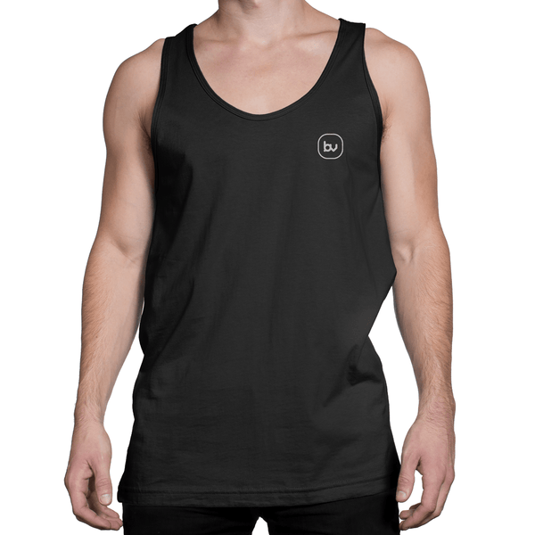 Bazarville Void TTM XS / Black Boys Tank Top -  Black