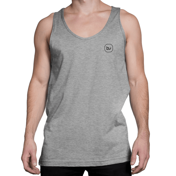Bazarville Void TTM XS Boys Tank Top -  Grey Melange