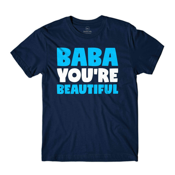 Bazarville XS / MEN / Navy Blue Baba You're Beautiful