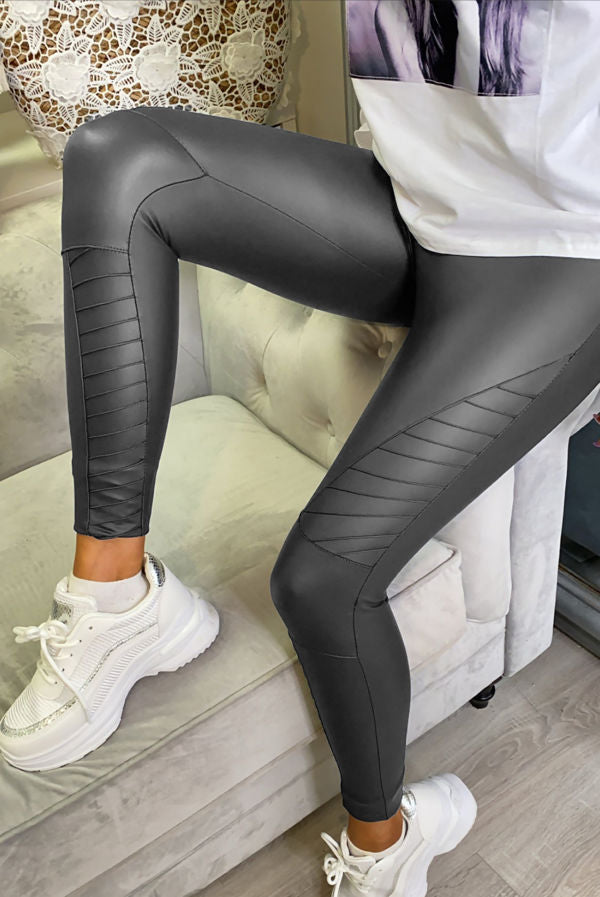 Taylor Grey Biker leggings