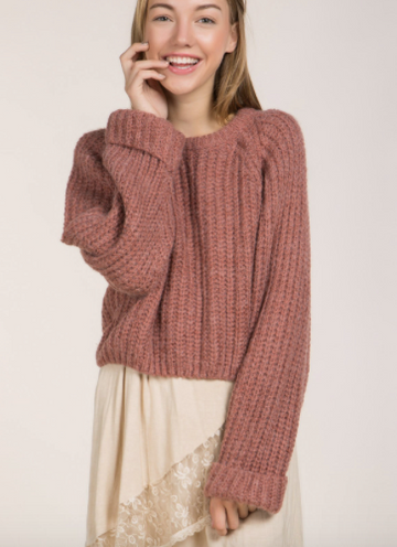 Everly Cropped Sweater