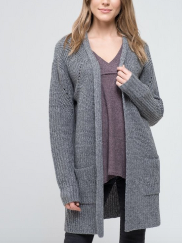 Raquel Front Pocket Cardigan