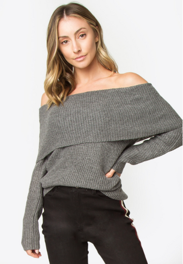 Luciana Off The Shoulder Sweater
