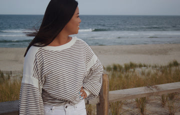 Diana Striped Long Sleeve Top