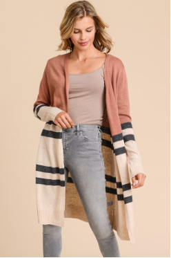 McKenzie Striped Cardigan
