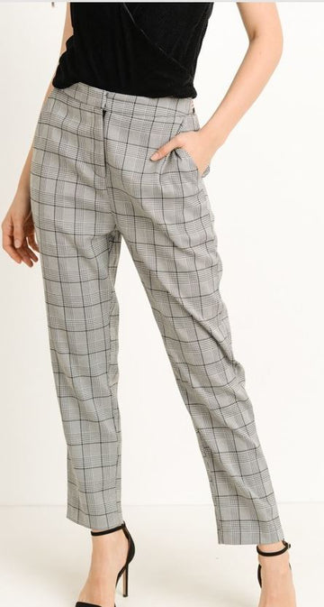 Stephanie Plaid Pant