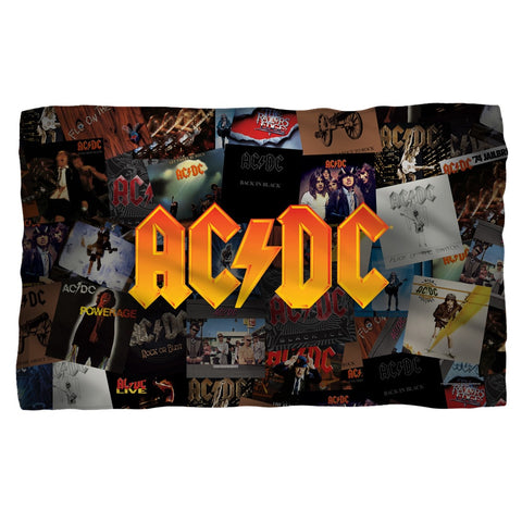 AC/DC - Album Covers Polar Fleece Blanket - Rock Our Tshirts