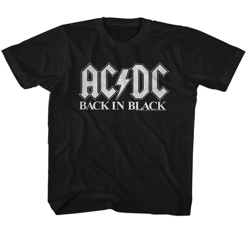 ACDC - Back In Black Toddler T-Shirt