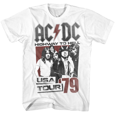 AC/DC - '79 USA Hell Tour T-Shirt