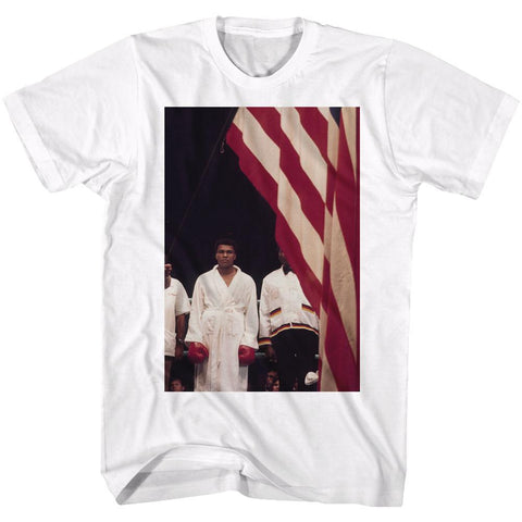 Muhammad Ali - A Flag T-Shirt - Rock Our Tshirts