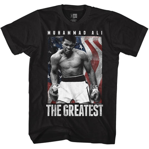 Muhammad Ali - Americali T-Shirt - Rock Our Tshirts