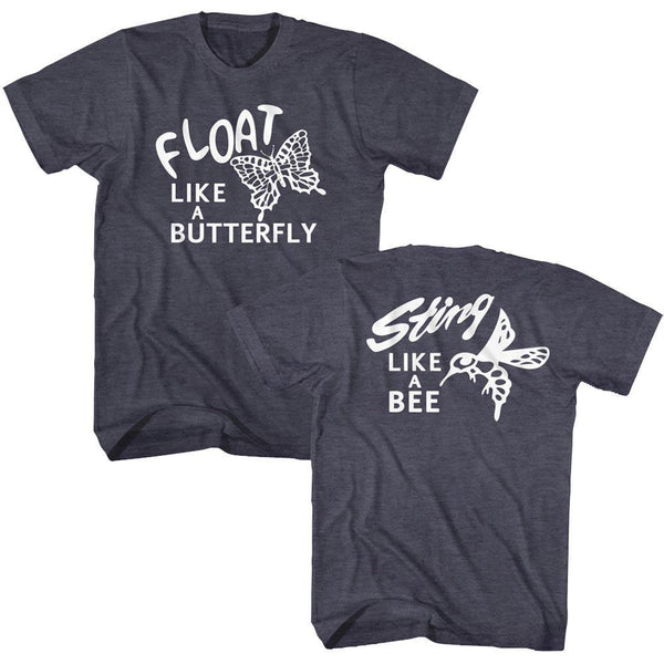 Muhammad Ali - Two Sided Float Sting T-Shirt