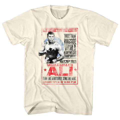 Muhammad Ali - 1965 Poster T-Shirt - Rock Our Tshirts