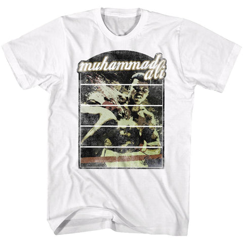 Muhammad Ali - DOMINO EFFECT T-Shirt - Rock Our Tshirts