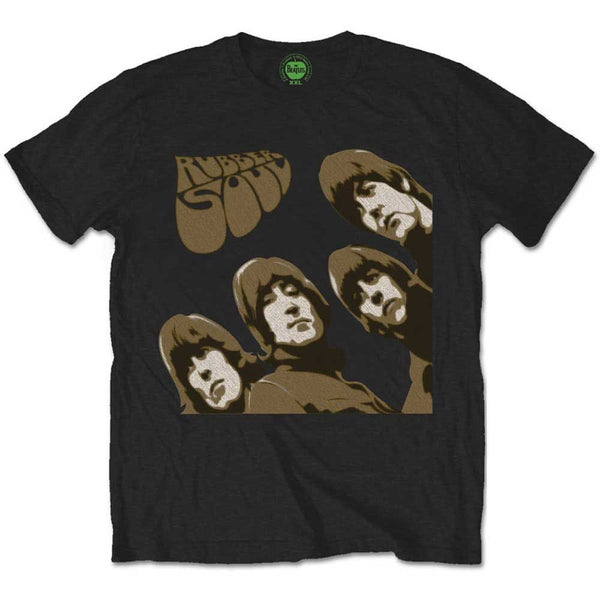 The Beatles - Rubber Soul Sketched T-Shirt