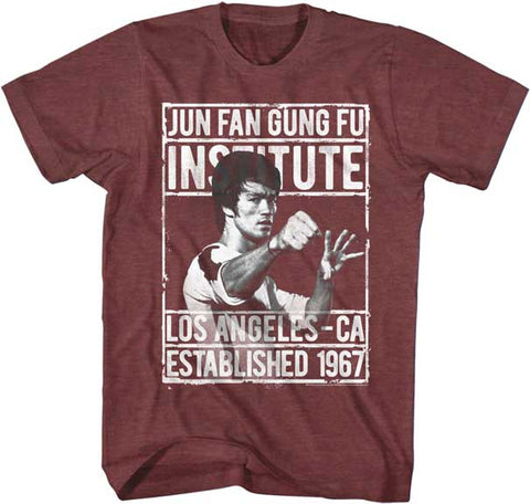 Bruce Lee - The Insitute JFGF T-Shirt - Rock Our Tshirts
