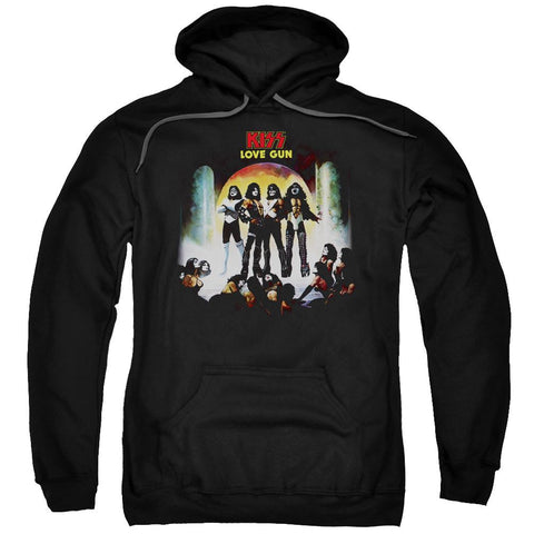 KISS - Love Gun Album Cover Hoodie