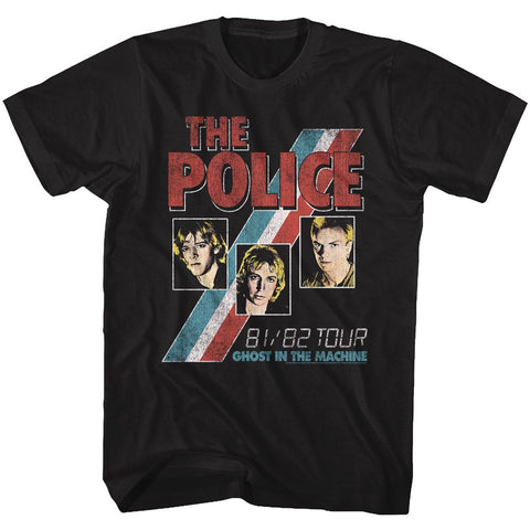 The Police - Ghost In The Machine Tour T-Shirt