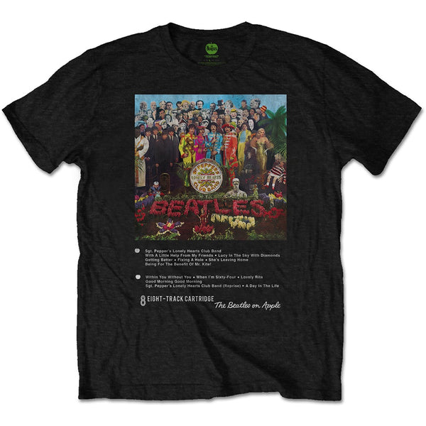 The Beatles -  Sgt Pepper 8 Track Collection T-Shirt