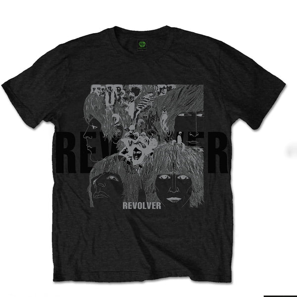 The Beatles - Reverse Revolver With Foiled Application T-Shirt