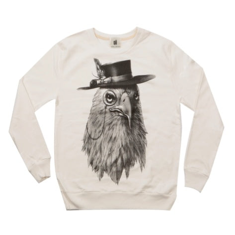 Oii Jumper - Bird & Hat