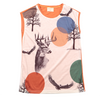 Masque Sleeveless T-Shirt - Deer