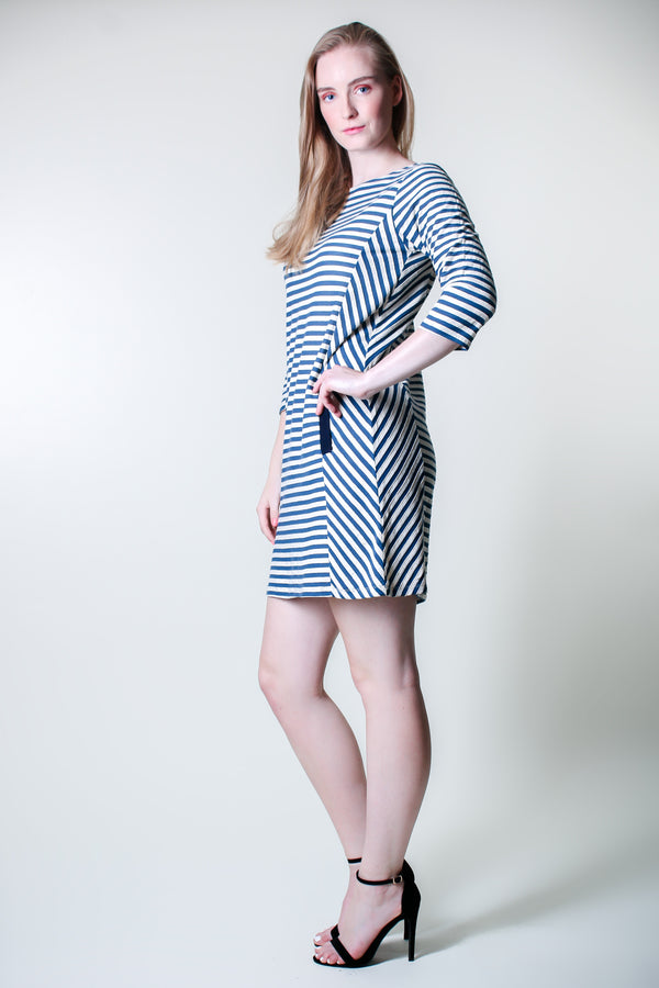 Pocket Dress Tunic - Blue