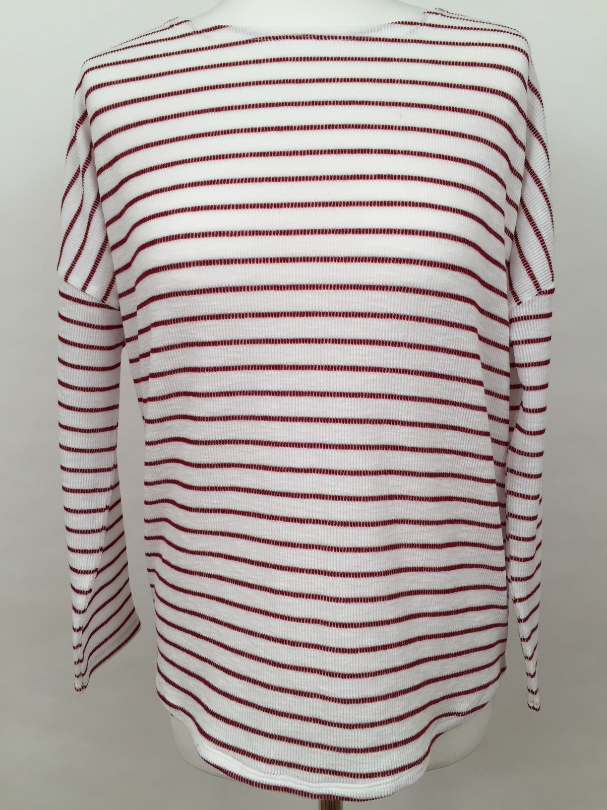 Long Sleeve Top - Red Stripe