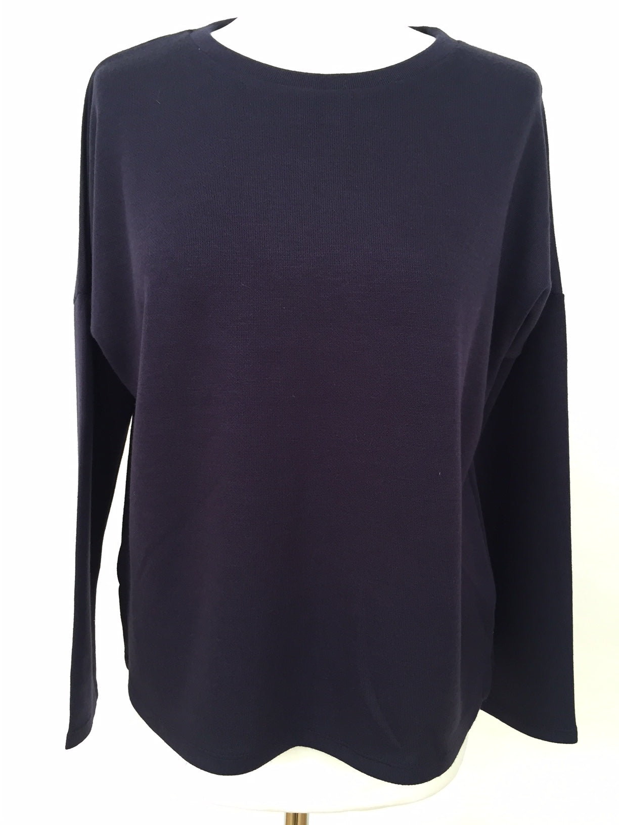 Long Sleeve Top - Blue Soft