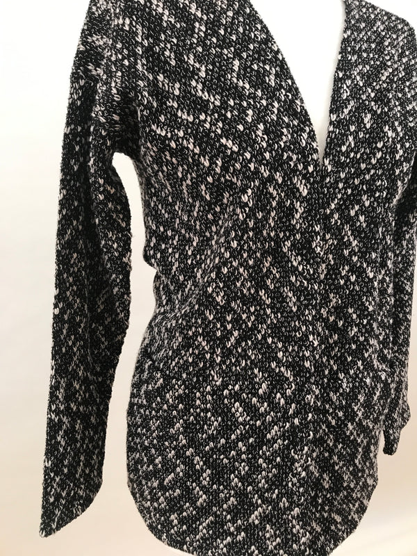 Cardigan - Black and White