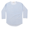 Long Sleeve Top - Light Blue Stripe