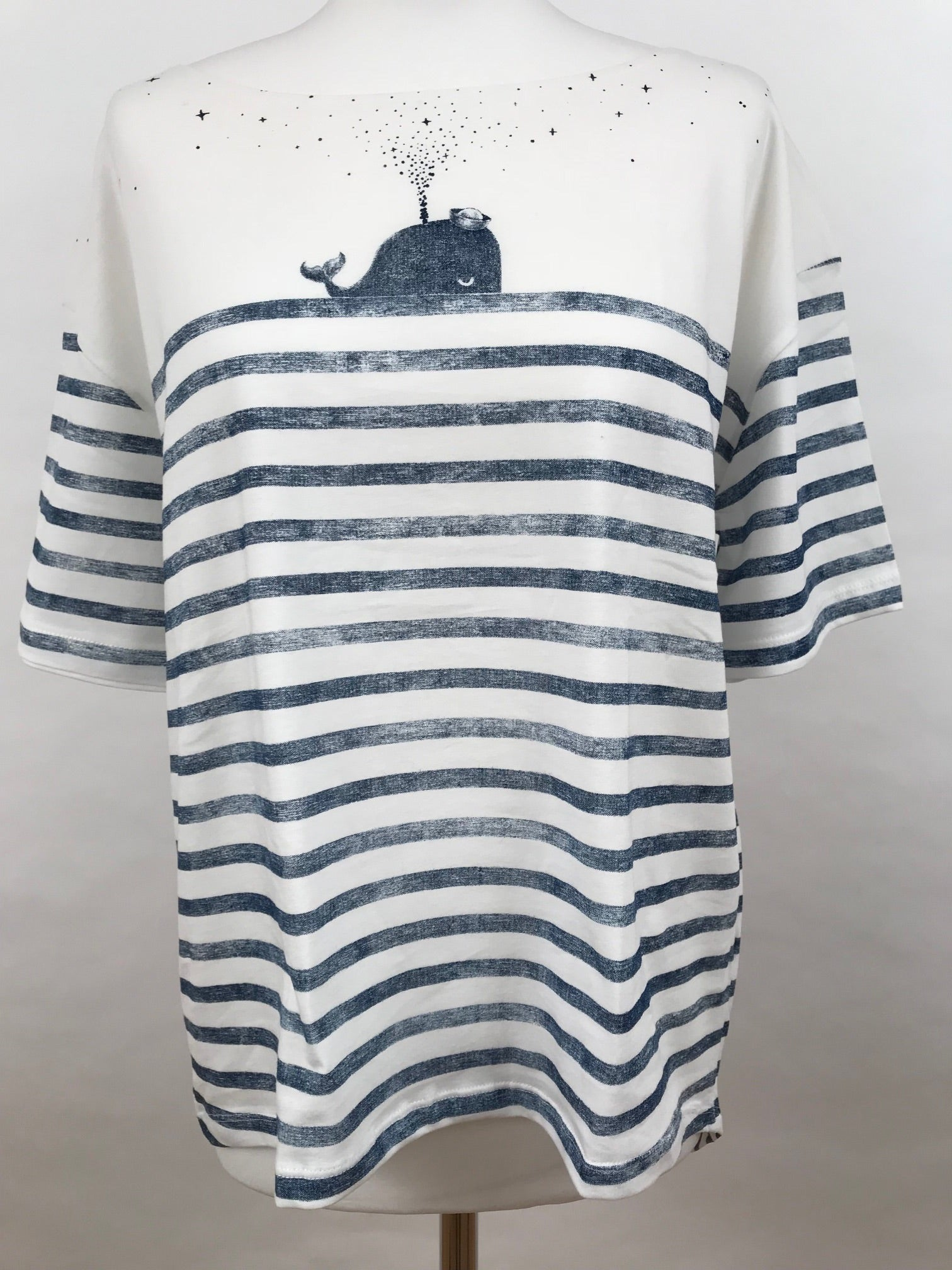 Oii Oversize T-Shirt - Whale