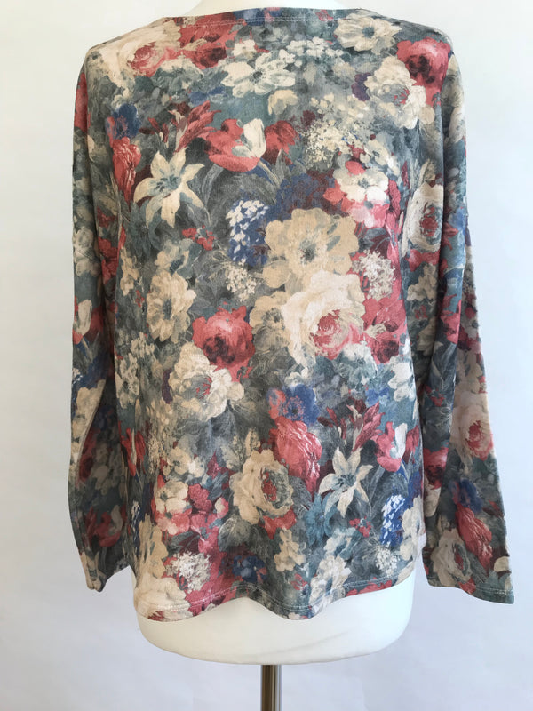 Flowers Artistic - Long Sleeve Top