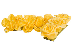 Yellow flower headpiece