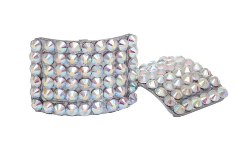 Diamante buckles - AB crystal