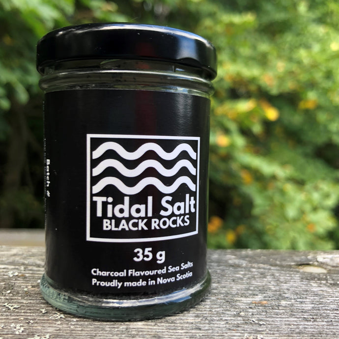 Activated Charcoal and Fleur de Sel, Why Not? (Black Rocks Tidal Salt)