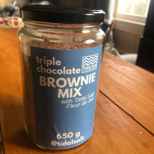 Triple Chocolate Salted Brownie Mix