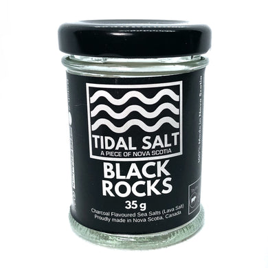Tidal Salt Black Rocks