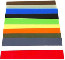 ".02"" -- G10 Knife Handle Liner Spacer Sheet-  5.5"" x 12.25""- 11 Vibrant Colors - Maker Material Supply"