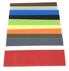 "G10 Knife Handle Liner Spacer Sheet- .06"" x 5.5"" x 12.25""- 11 Vibrant Colors-- .06"" - Maker Material Supply"
