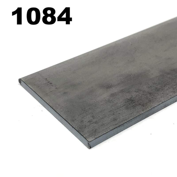 1084 High Carbon Blade Steel Flat Bar- Various Sizes - Maker Material Supply
