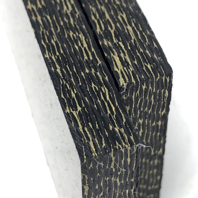 "Brass Infused Carbon Fiber- 1/4"" x Various Sizes- CarbonWaves - Maker Material Supply"
