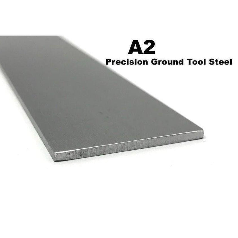 A2 Precision Ground Tool Steel - Various Sizes - Maker Material Supply