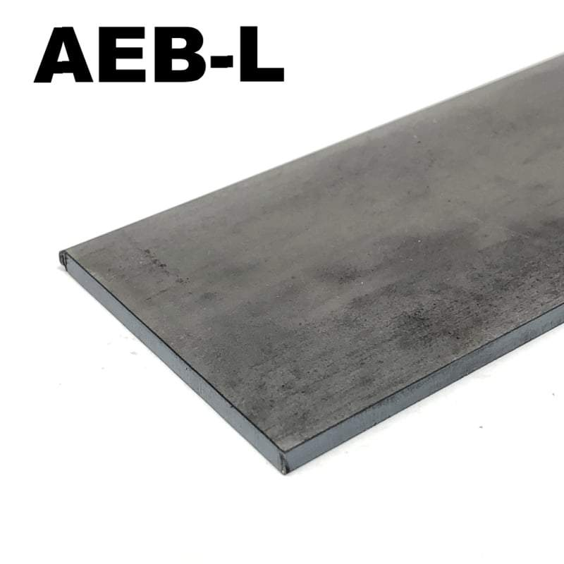 AEB-L - Stainless Blade Steel Flat Bar- Various Sizes - Maker Material Supply