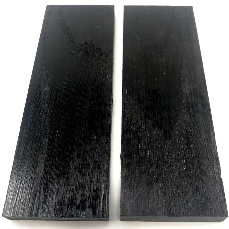 Bog Oak- K&G Stabilized Wood- Blocks and Scales - Maker Material Supply