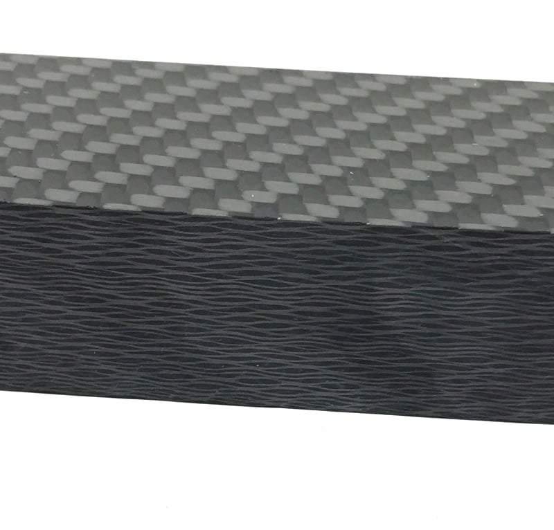"Carbon Fiber- 2x2 Twill Weave- 3/4"" Thick- Various Sizes- CarbonWaves - Maker Material Supply"