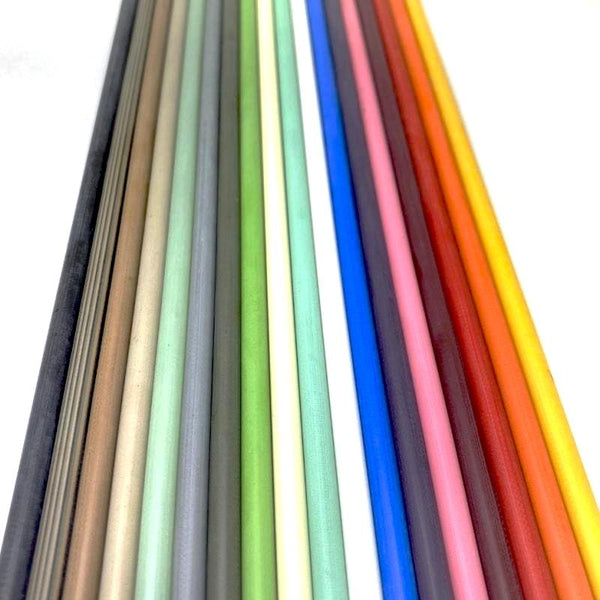Colored G10 Solid Round Rod- 1/4