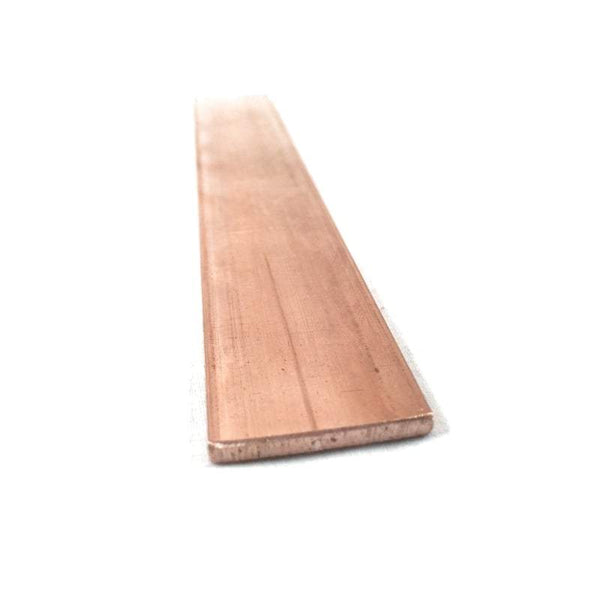 Copper Flat Bar Stock 1/8